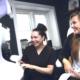 Madeleine og Synnøve på Ad Fonte Klinikken